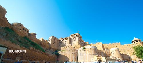 The Jaisamer fort.