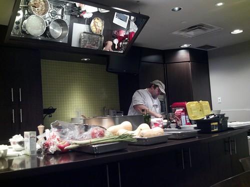 Watching @mattkantor in action @longosmarkets in prep for tonight's #TasteOntario