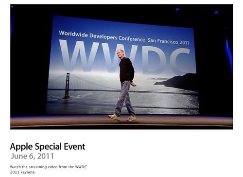 2011年6月 WWDC 2011 基調講演