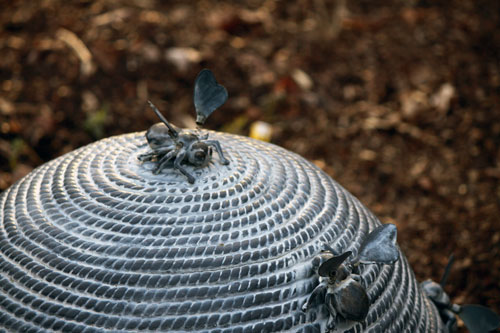Meadowlark Botanical Gardens Beehive Sculpture