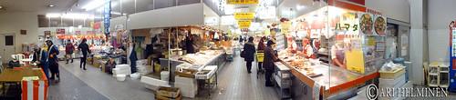 Fish market in Hirosaki