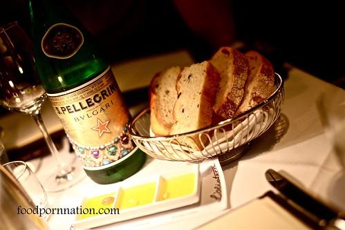 Complimentary bread @ Pendolino