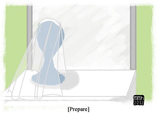 Illustration Friday: Prepare