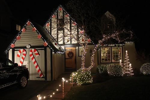 Christmas Tree Lane Alameda