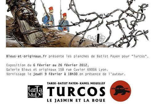 Exposition Turcos // galerie Bleus et Originaux by Pegasus & Co