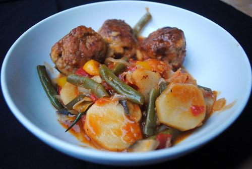 Hearty Meatball Stew