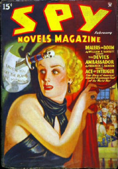 052 Spy Novels Magazine Feb 1935 Includes Agents Of The Ir