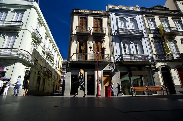 Calle Mayor de Triana. Barrio de Triana