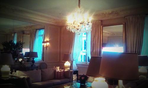 our suite, Hôtel Plaza Athénée