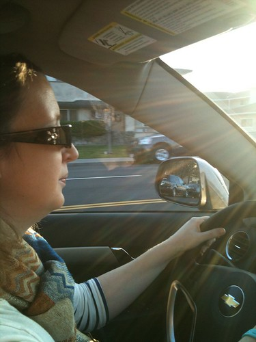 Me driving!