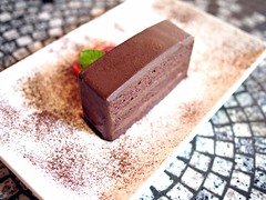 Chocolate cake, Chock Full of Beans, Changi Village
