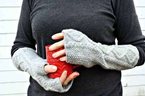 designed :: Shameless Mitts