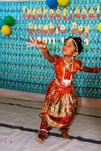 A Baradanatiam dancer at MARDAP (3)