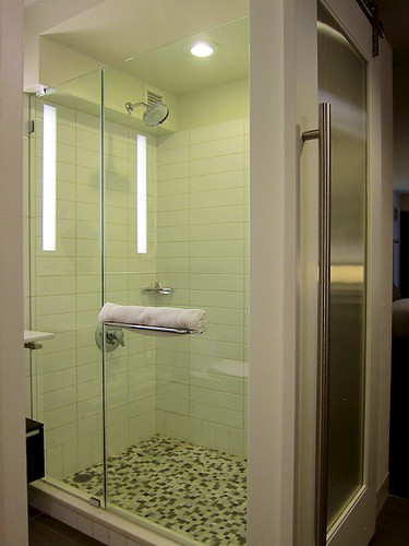Room 306: Shower Stall by bloompy