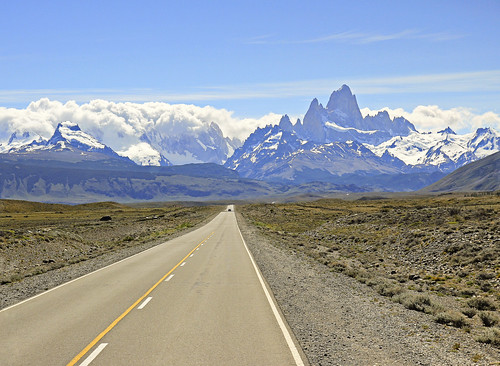heading towards the mighty fitz roy