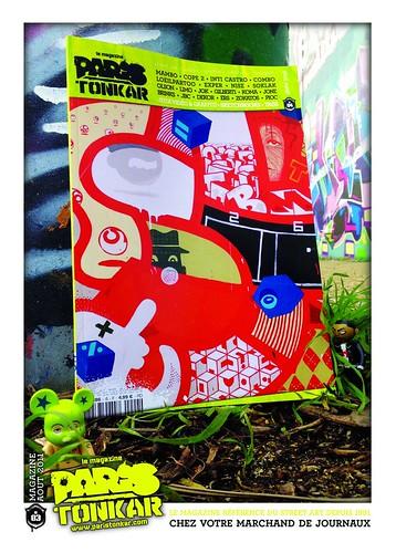 Paris Tonkar magazine #4 by Pegasus & Co