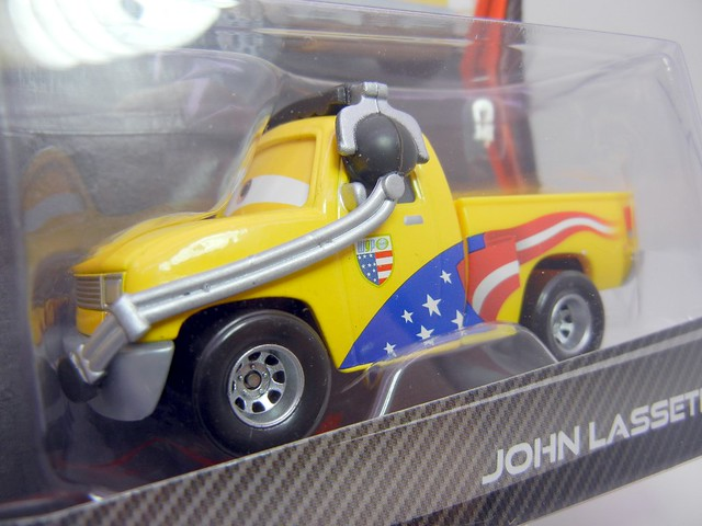 DISNEY CARS 2 KMART CREW CHIEF 2 PACK JOHN  LASSETIRE (2)