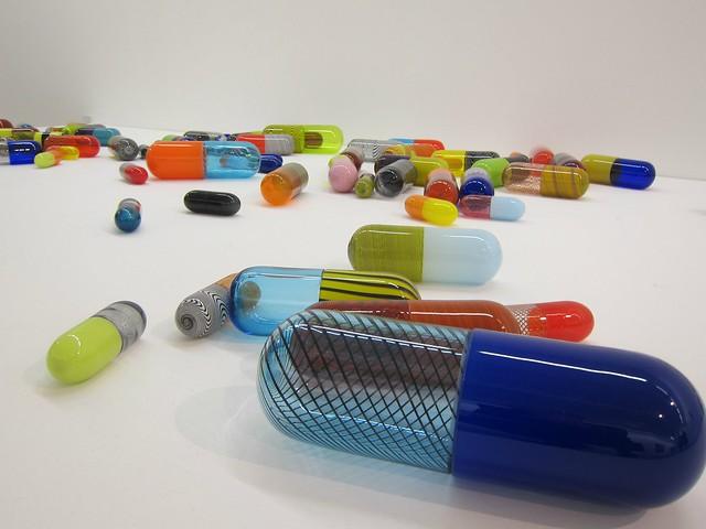 Beverly Fishman: Pill Spill at Galerie Richard