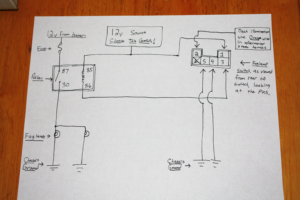 DIY: Wiring OEM Foglamp Switch W/ Aftermarket Lights