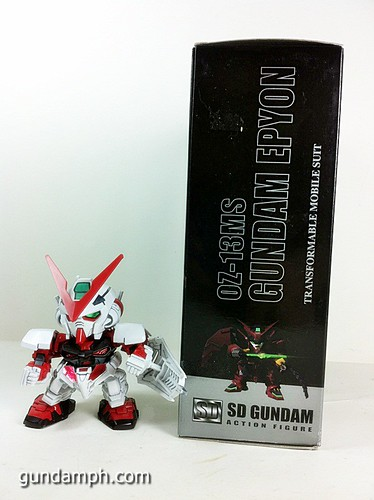 SD Gundam Online Capsule Fighter EPYON Toy Figure Unboxing Review (4)