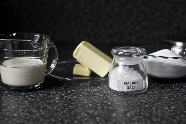 the makings of caramel