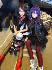 Two Tan Lish dolls!