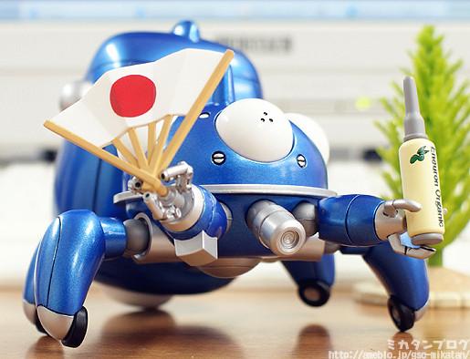 Nendoroid Tachikoma: Cheerful Japan Version Pre-orders Open February 10th!