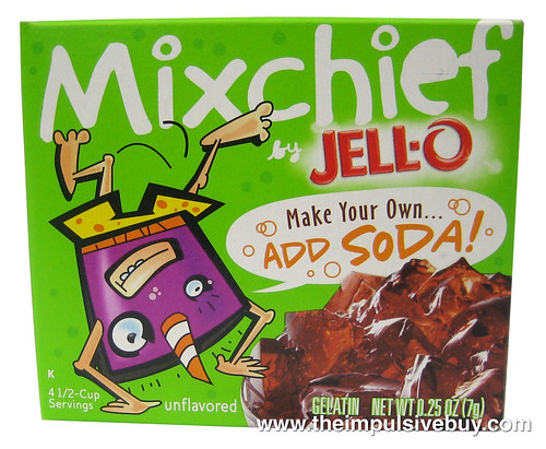 Jello Mixchief Make Your Own...Add Soda