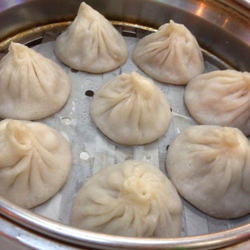 Juicy Buns (soup dumplings) @ Dim Sum Garden