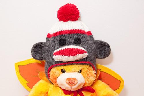 Sock Monkey - Newborn