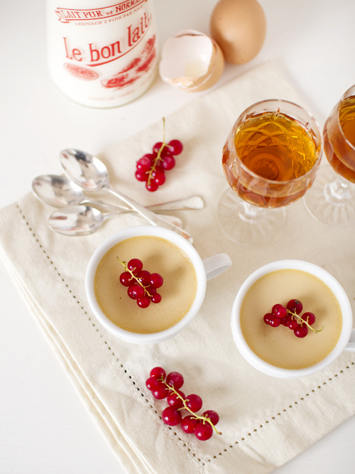 spiced muscat creams