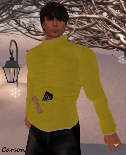 K  - High-necked Shirt lemonyellow