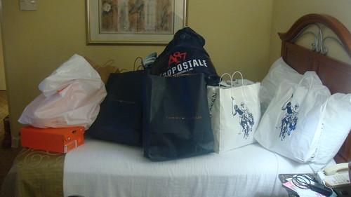 Primeiras comprinhas de roupas - Orlando