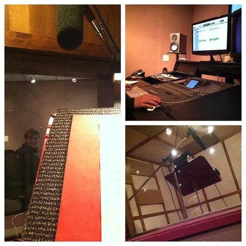 Studio time at Bad Animal.
