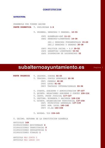 Estructura constitución by Subalterno Ayuntamiento
