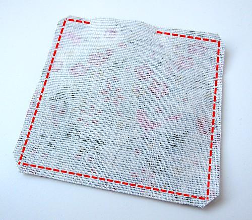 Crochet granny square and linen pincushion free tutorial 17