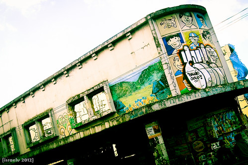 Graffiti at Session Road by israelv