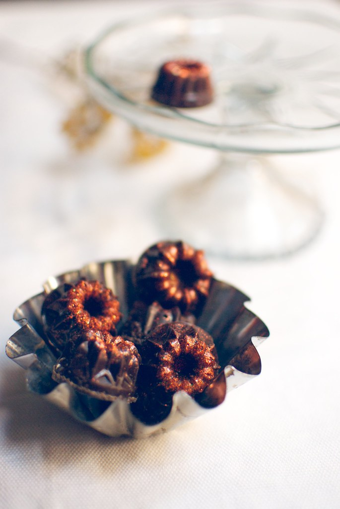 bombones de chocolate con café