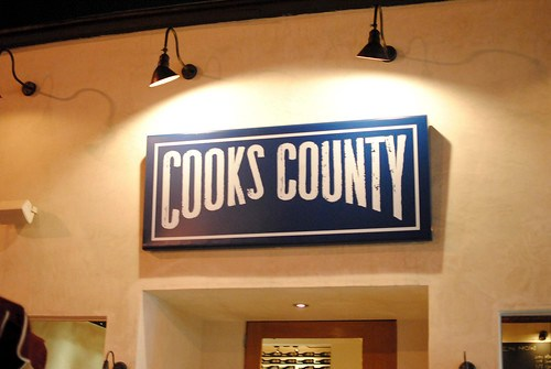cooks county signage