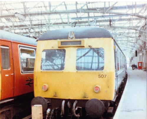 Clas 120, Stèisean a' Mheadhain, Glaschu, 1986