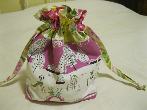 Christmas bag for Lily