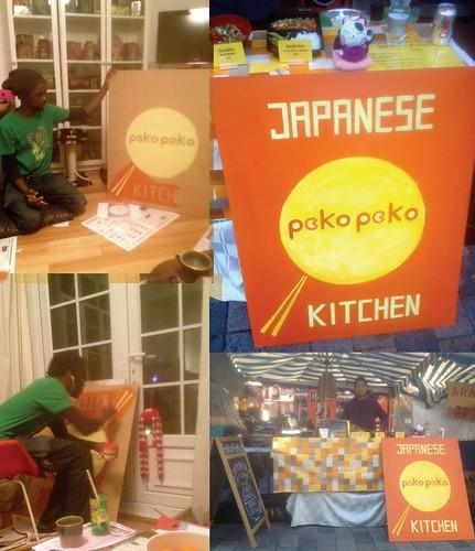Pecko Pecko Sign by kiboko HachiYon