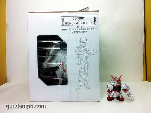 Banpresto Gundam Unicorn Head Display  Unboxing  Review (2)