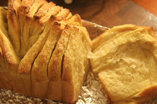 lemon pull apart bread