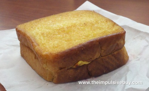 Dunkin' Donuts Texas Toast Grilled Cheese Sandwich