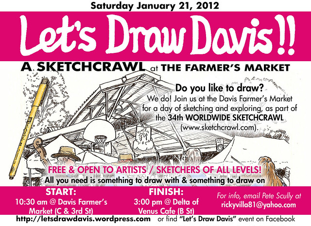 let's draw davis jan 21, 2012