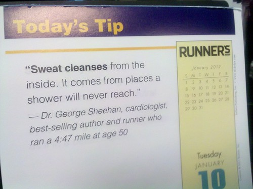 Sweat cleanses from the inside. No crazy starvation diet required.