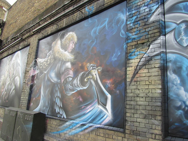 Street Art & Graffiti in Shoreditch - Soul Calibur