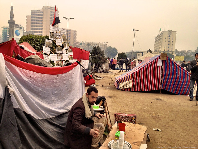 Tahrir Square Encampment