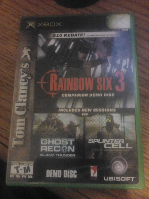 Cover of Rainbow Six 3 Companion Demo Disc